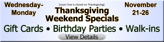 Click for Thanksgiving Weekend Specials